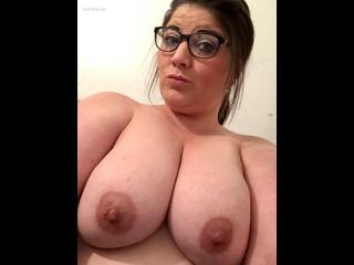 My Big Tits Topless Selfie by Topless Stacey