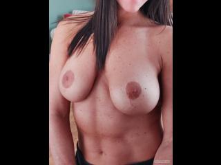 My Big Tits Selfie by Topless Workouts