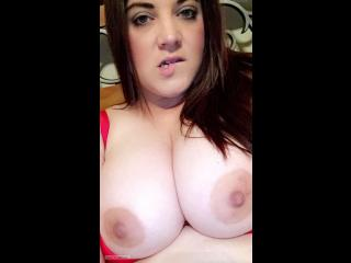 My Big Tits Topless Selfie by Stacey