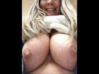 My Big Tits Selfie by Candymartin66