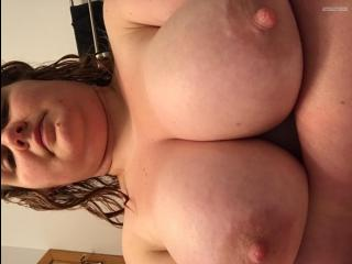 Big Tits Of My Wife Topless Selfie by Wifey