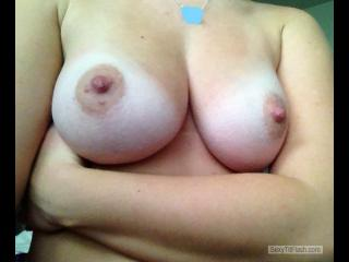 Big Tits Of My Girlfriend Selfie by Nurse