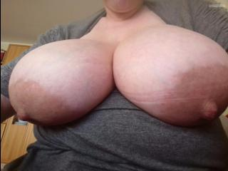 My Extremely big Tits Selfie by E-center