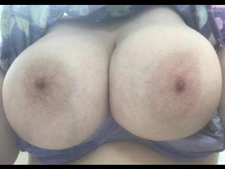 Extremely big Tits Of My Wife Selfie by Big Tits