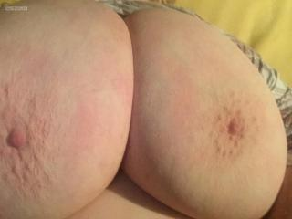 My Extremely big Tits Selfie by Ginger