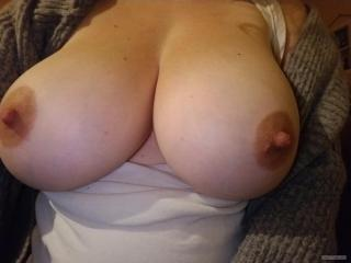 My Extremely big Tits Topless DD