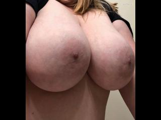 Extremely big Tits Of My Wife Selfie by Hello Nurse