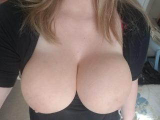 My Extremely big Tits Selfie by Exhibitionism In The Morning
