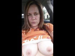 My Medium Tits Topless Selfie by Sweetwinetx74
