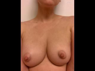 My Medium Tits Selfie by Puffy Nips