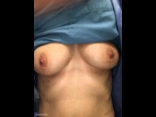 My Medium Tits Topless Selfie by Mateo76