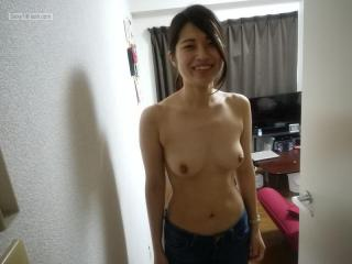 Small Tits Of My Wife Topless Mizuki