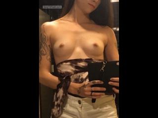 Small Tits Of My Wife Selfie by Perfectly Perky