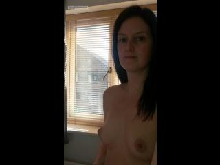 My Small Tits Topless Selfie by OfficeWorker