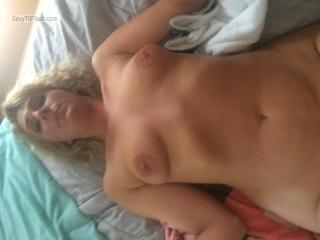 Small Tits Of My Girlfriend Topless Hot Kara