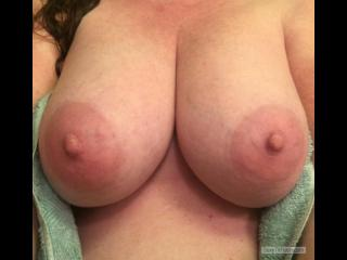 My Very big Tits Selfie by Redhead 47