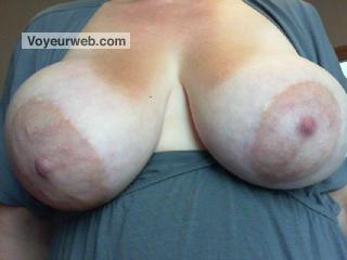 Tit Flash: My Very Big Tits (Selfie) - Bucky from Canada