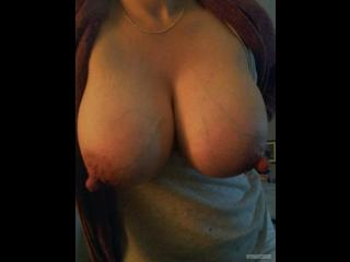 My Very big Tits Selfie by Pleasesqueezethem