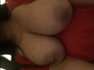 My Very big Tits Selfie by J