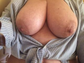 Very big Tits Of My Wife Selfie by Lydia