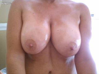 My Very big Tits Selfie by LuvTheBeach