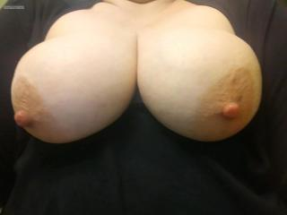 My Very big Tits Topless Selfie by Turboangie