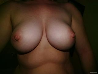 My Very small Tits Topless Heather's Tits