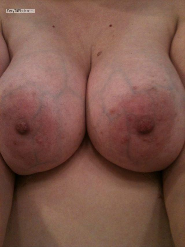 Tit Flash: Big Tits By IPhone - Oteo383 from United States