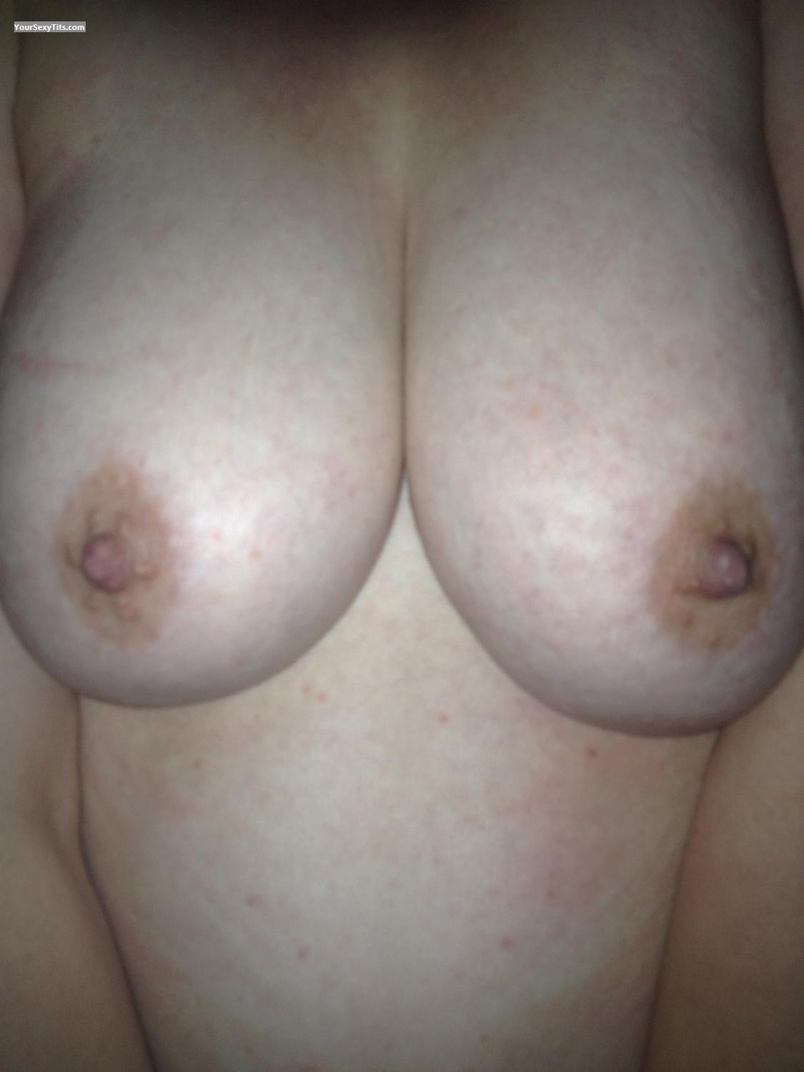 Tit Flash: My Big Tits By IPhone (Selfie) - Jubblies2 from United Kingdom