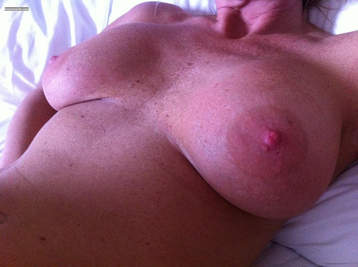 Tit Flash: My Big Tits By IPhone (Selfie) - Lil Miss from United States