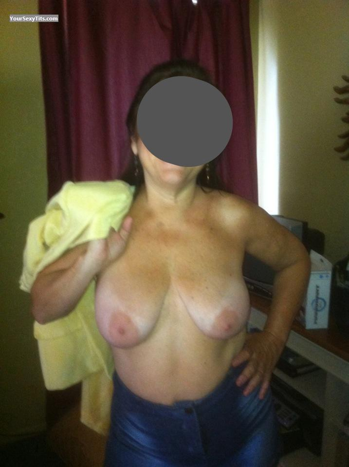 Tit Flash: Big Tits By IPhone - Chas from United States