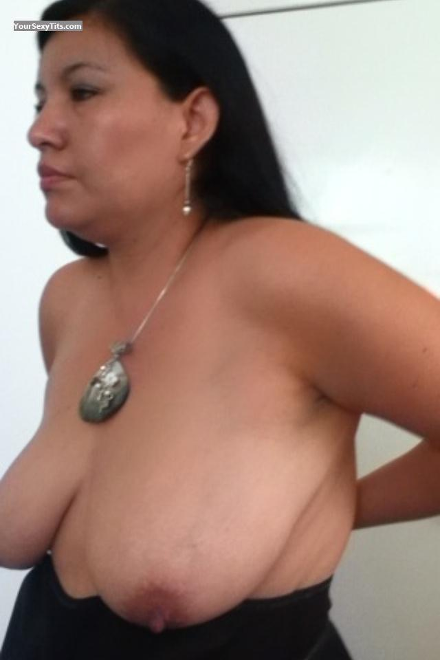 Tit Flash: Big Tits By IPhone - Marlene from United States