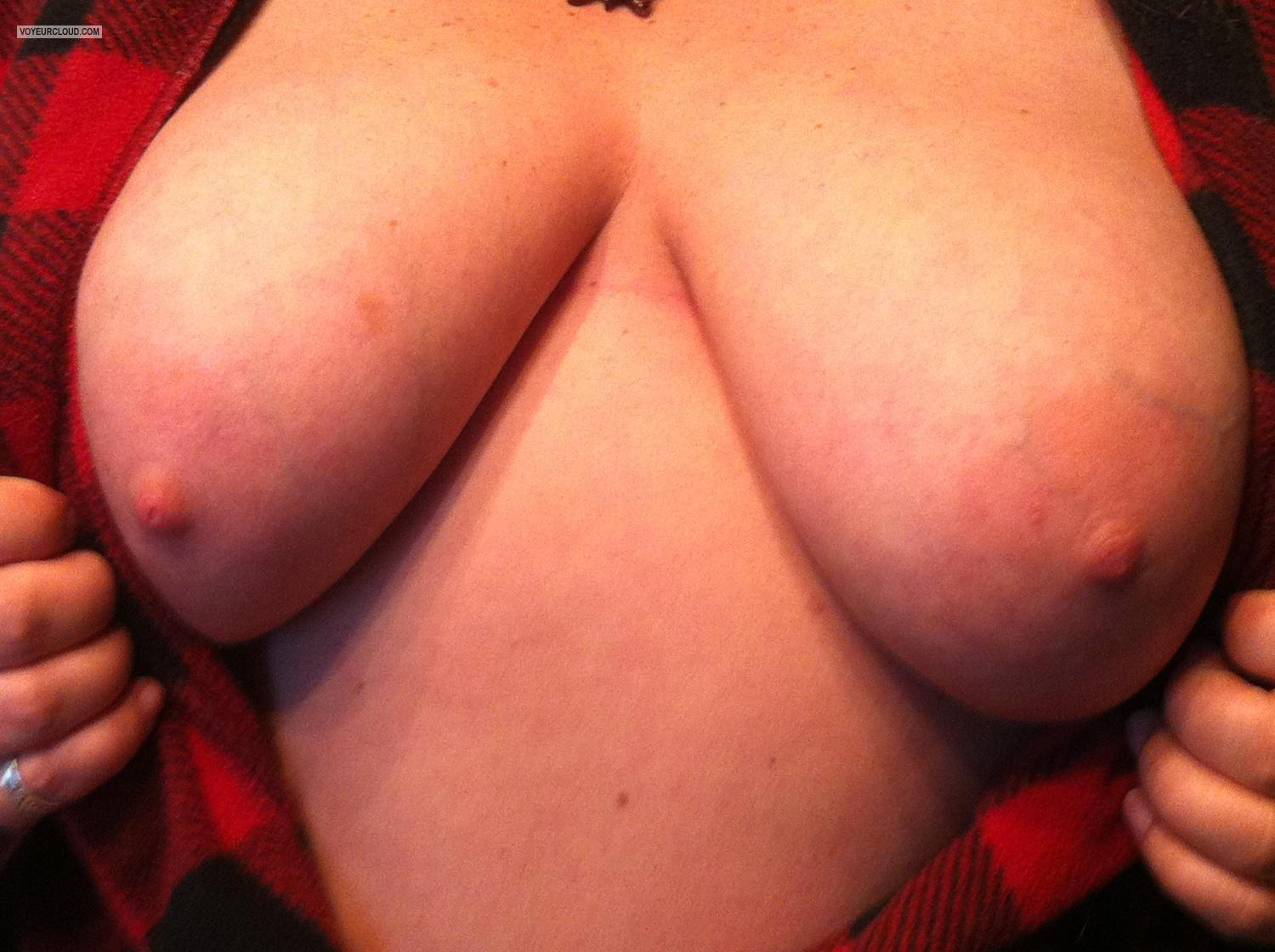 Tit Flash: Big Tits By IPhone - Stella from United States