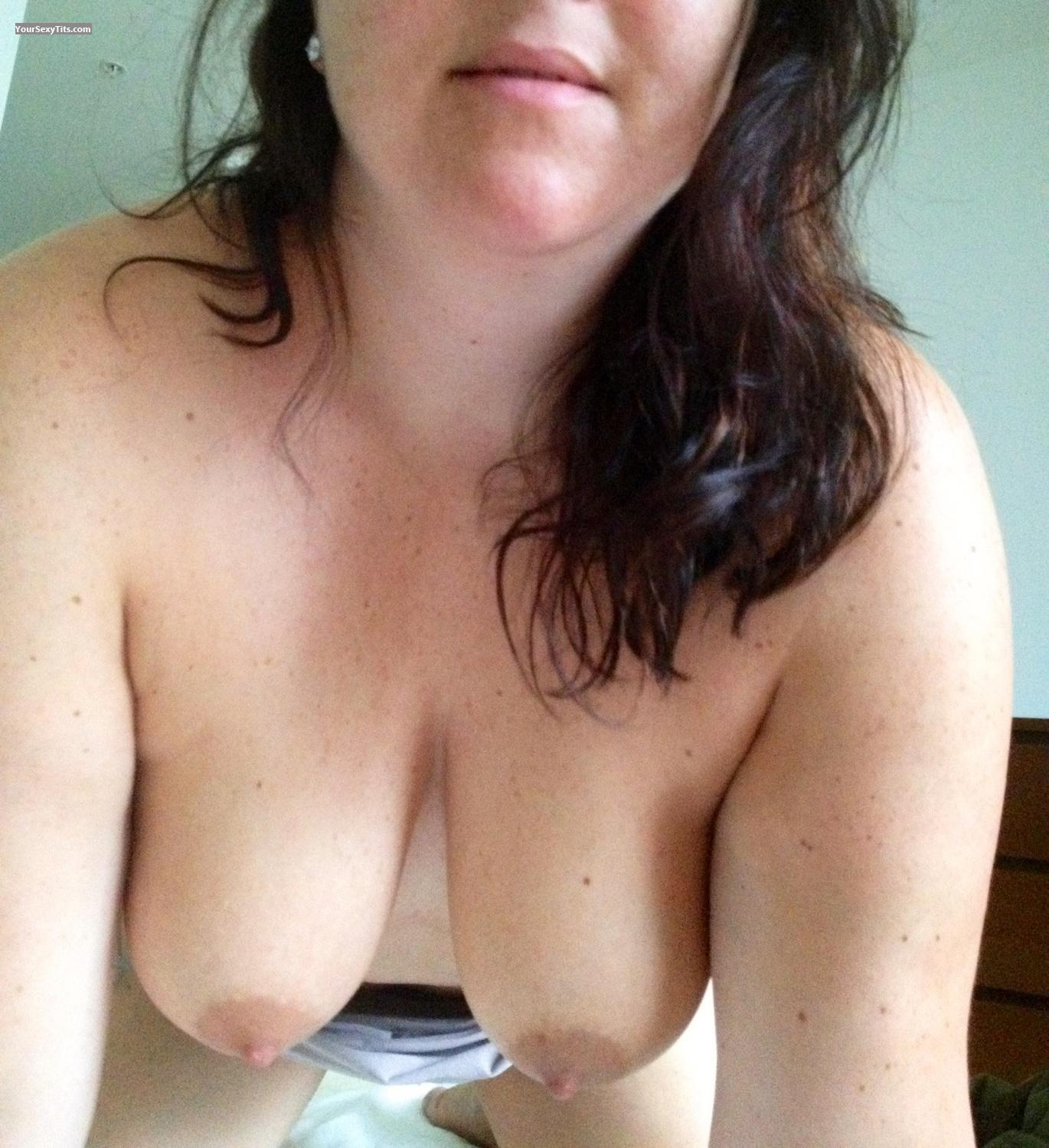 Tit Flash: Big Tits By IPhone - Kandk from United States