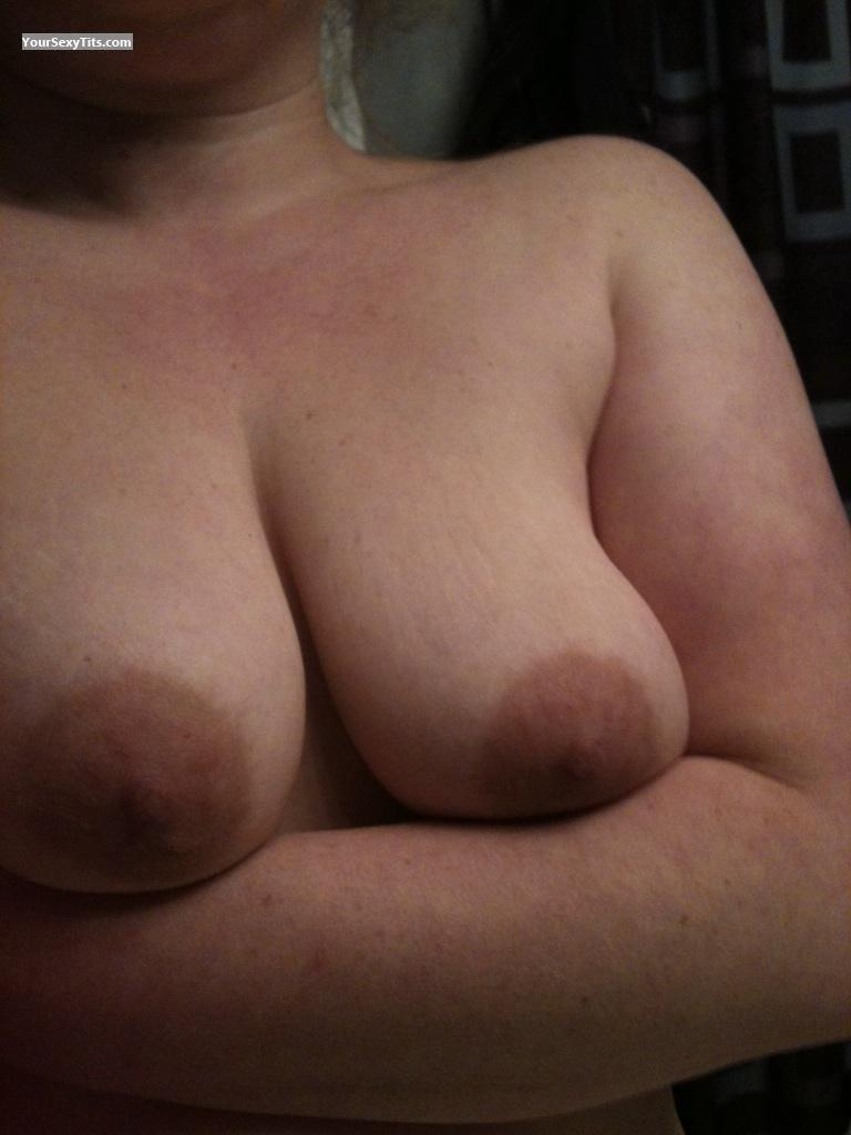 Tit Flash: Big Tits By IPhone - Nursey from United States