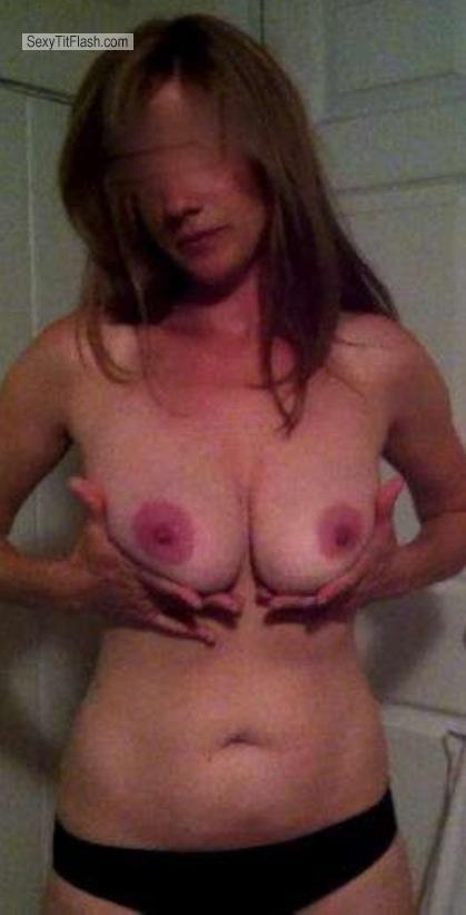 Tit Flash: Small Tits By IPhone - Esco from United States