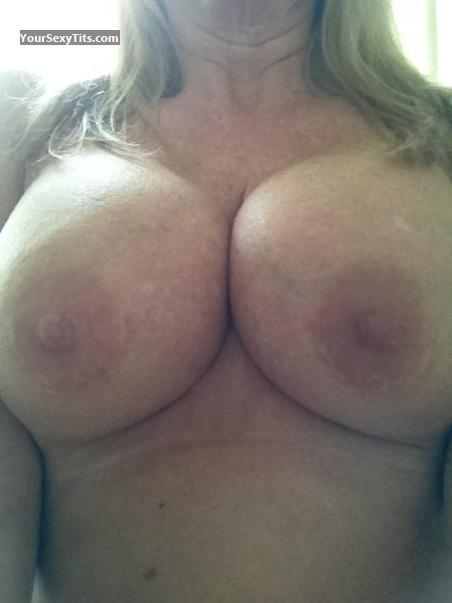 Tit Flash: My Big Tits By IPhone (Selfie) - Annet from United States
