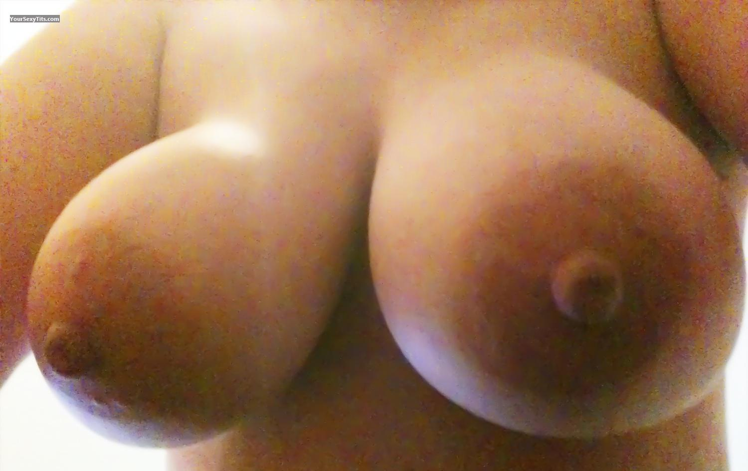 Tit Flash: Big Tits By IPhone - TexasTyme from United States
