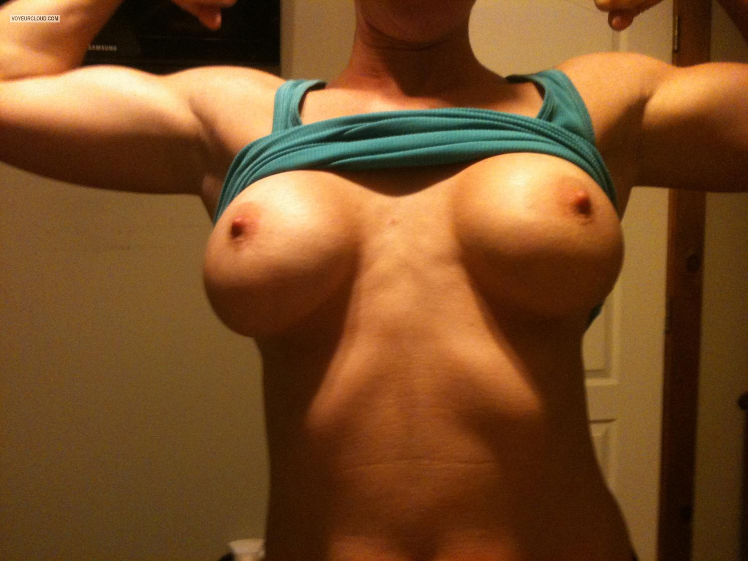 Tit Flash: Big Tits By IPhone - Kat from United States