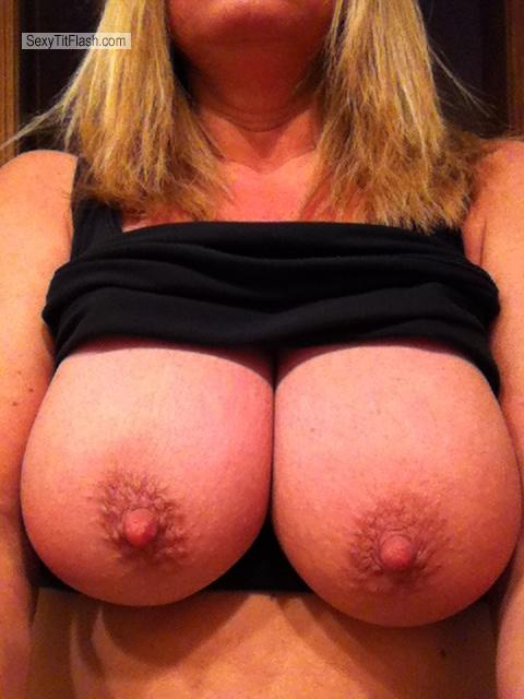 Tit Flash: My Big Tits By IPhone (Selfie) - Tracey from United States