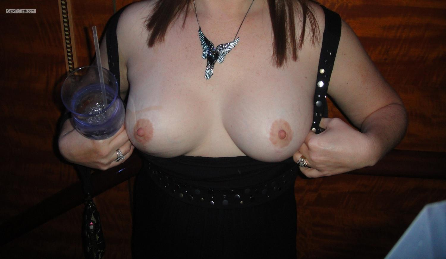 Tit Flash: Big Tits By IPhone - Sexy Milf from United States