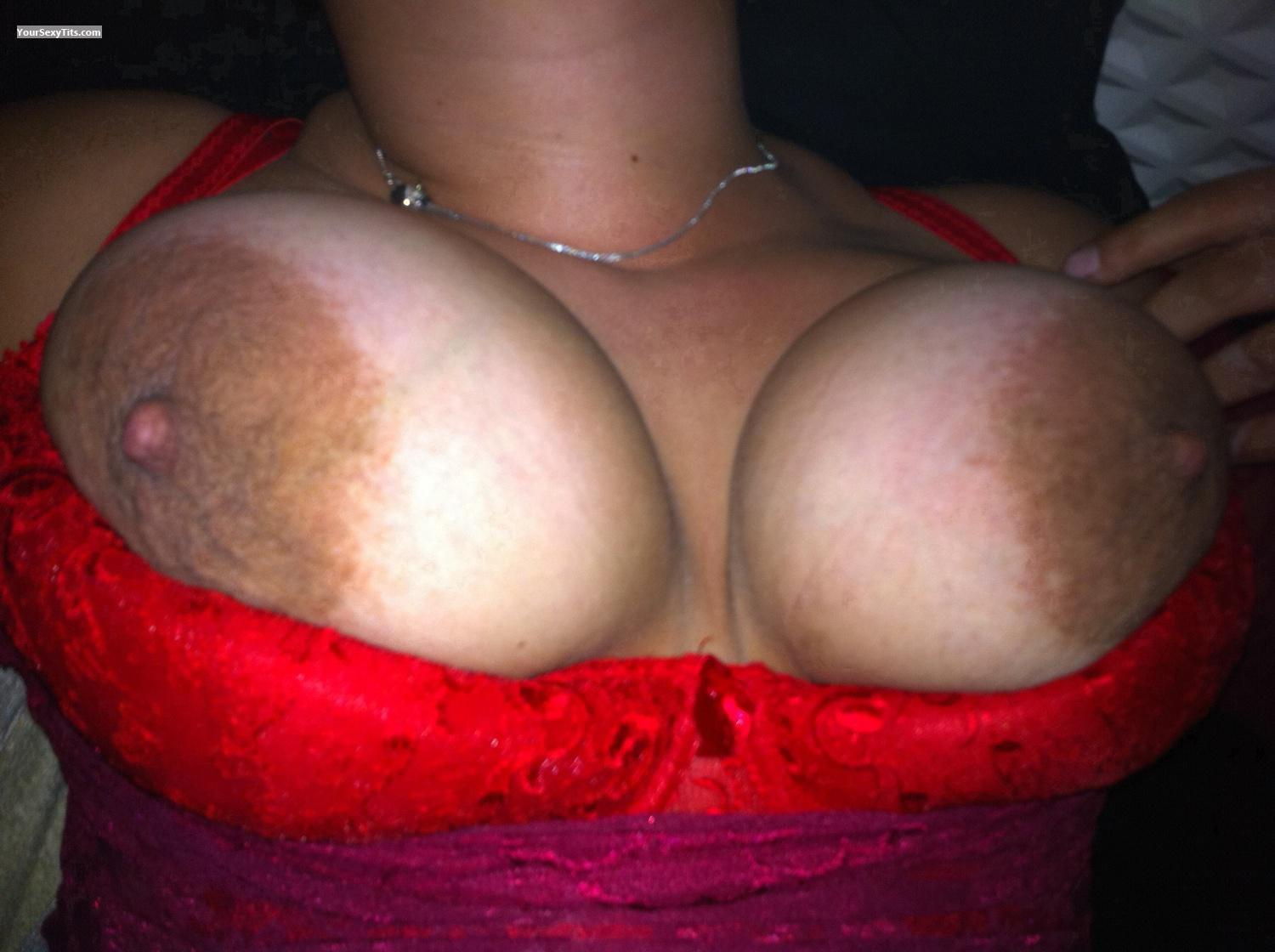 Tit Flash: Big Tits By IPhone - Sexygirl from France