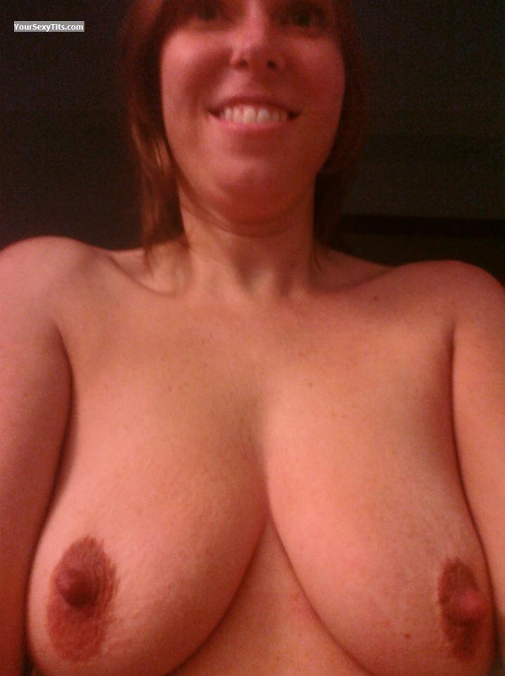 My Big Tits Topless Selfie by Baby