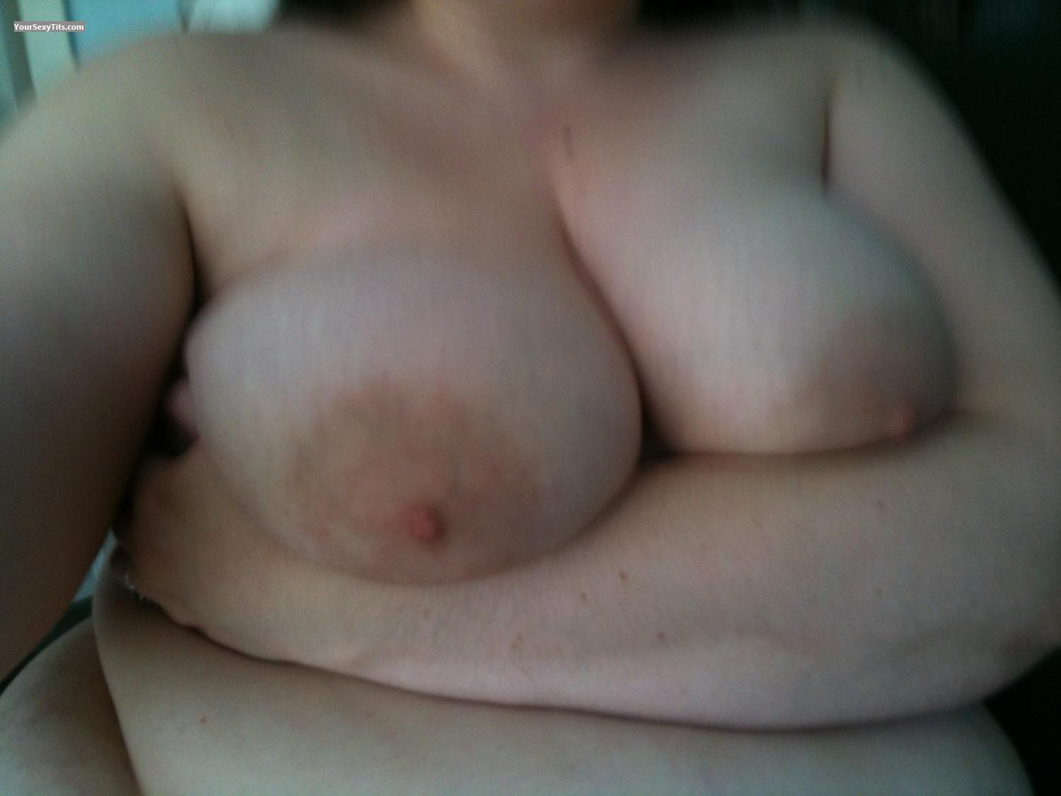 My Big Tits Selfie by B