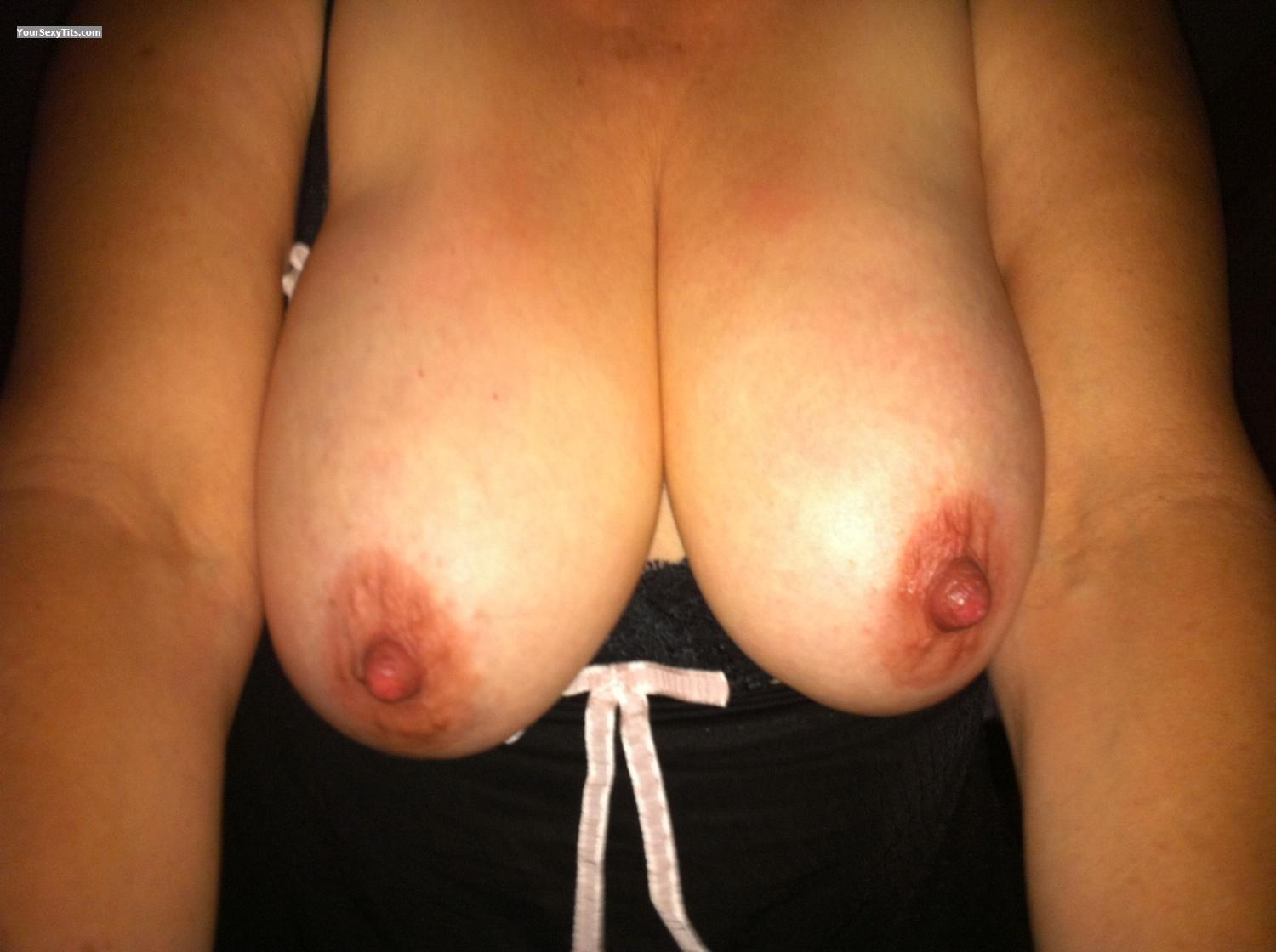 Tit Flash: Big Tits By IPhone - Wife from United States