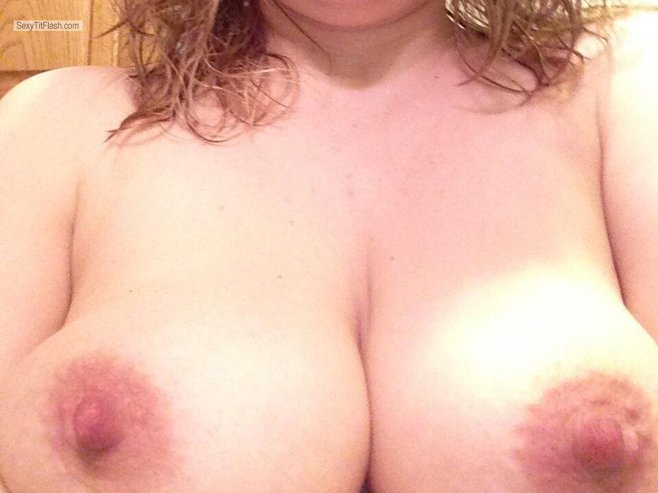 Tit Flash: Big Tits By IPhone - Just Tits from United States