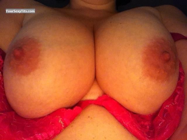 Tit Flash: My Big Tits By IPhone (Selfie) - Cara from United Kingdom