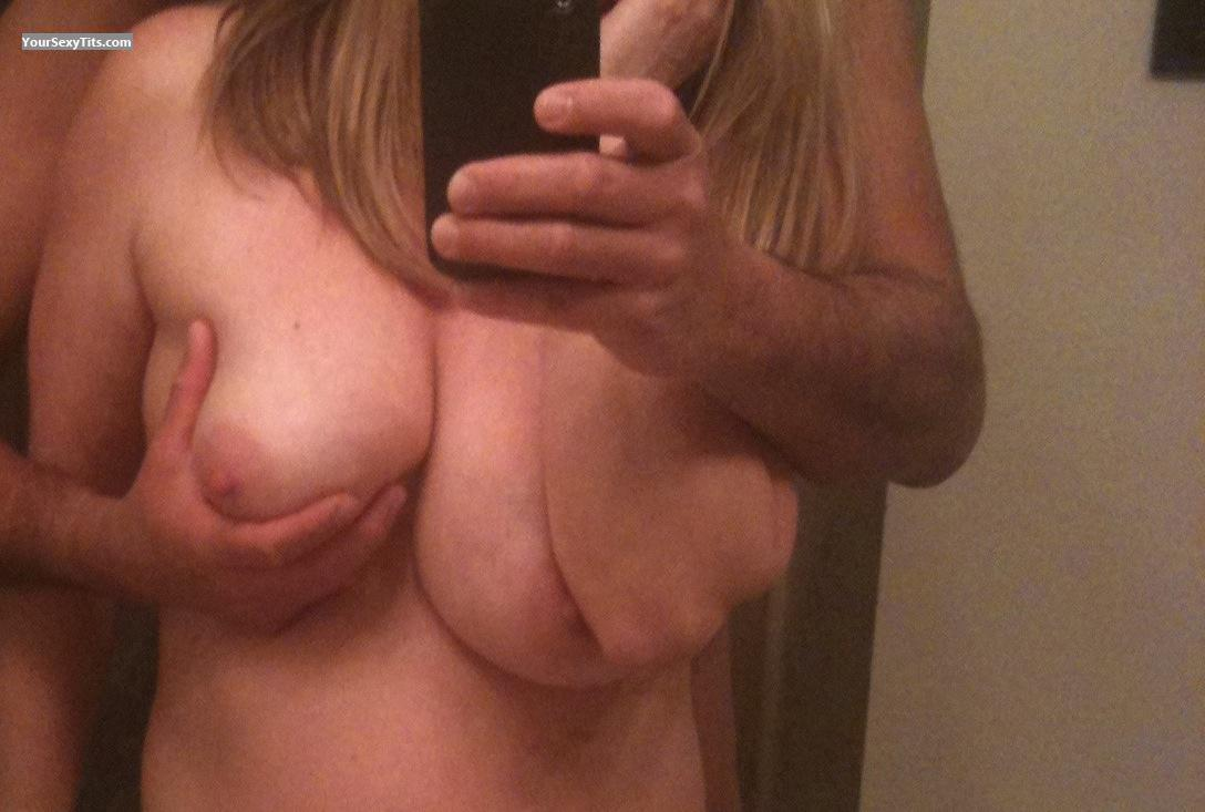 Tit Flash: Big Tits By IPhone - Natral51 from United States