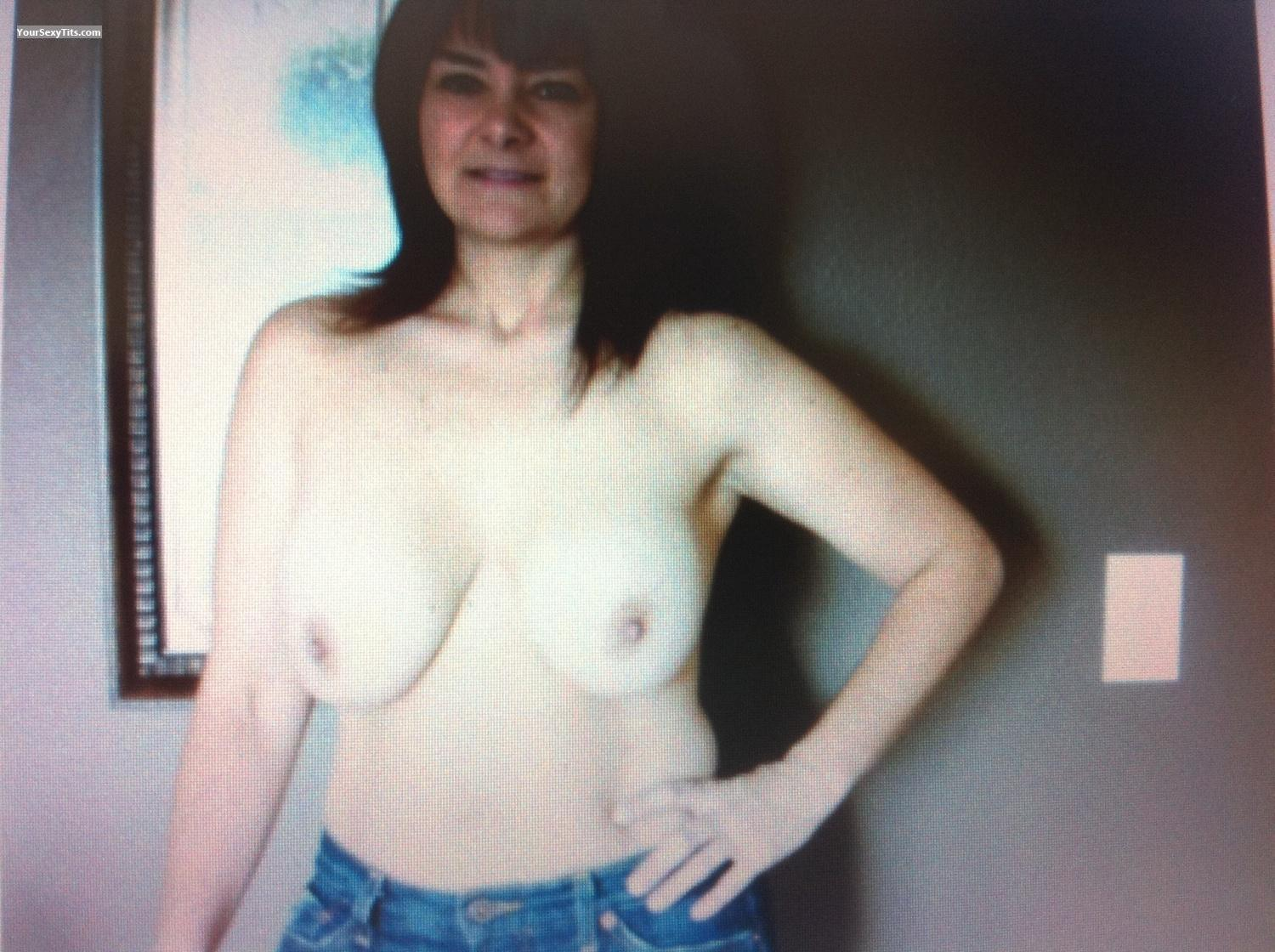 Tit Flash: Big Tits By IPhone - PrincessP from United States