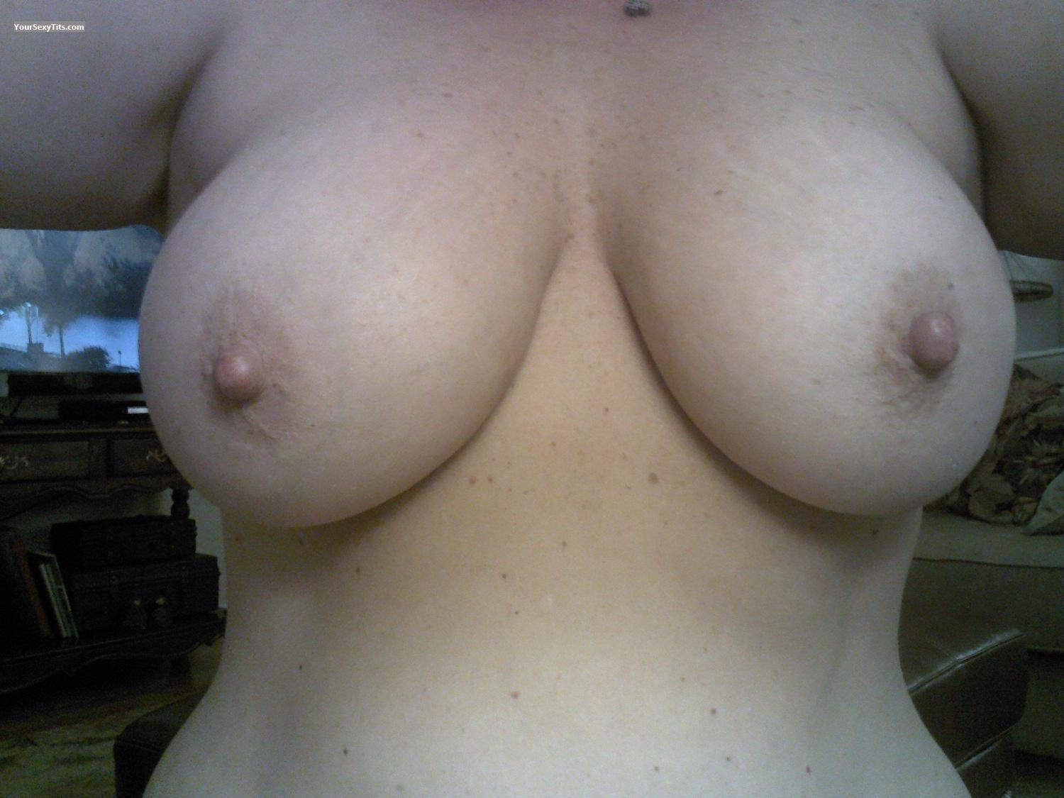 My Big Tits Selfie by CDM Lover